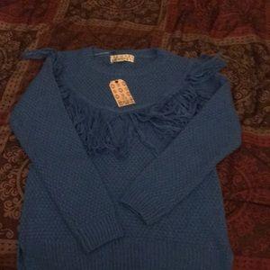 Girls new sweater blue